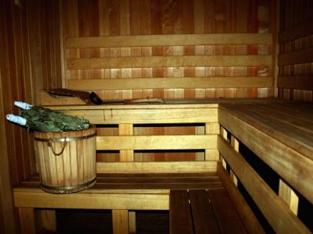 Русская сауна на дровах