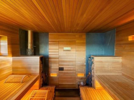 Инфракрасная сауна комната
