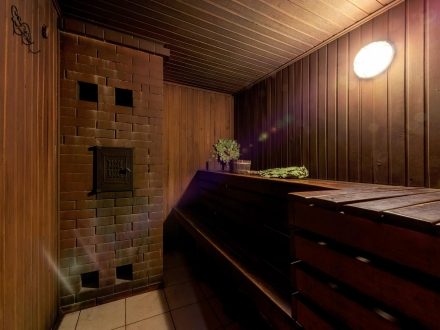 Сауна баня на дровах в Москве