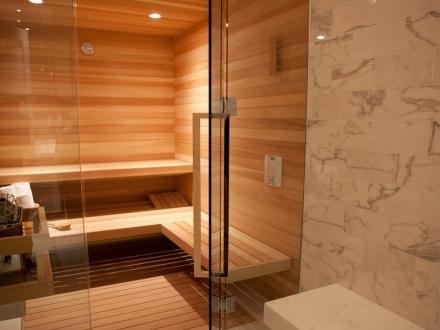 Сауна в ванной в частном доме