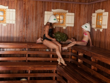 Сауна в Волоколамске с бассейном