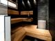 Проект одноэтажного дома с сауной и террасой