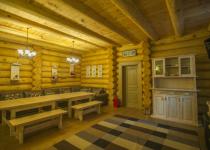 Банный двор на Лобненской Русский сруб фотогалерея