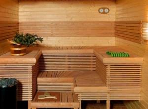 Одноэтажный дом с сауной и гаражом