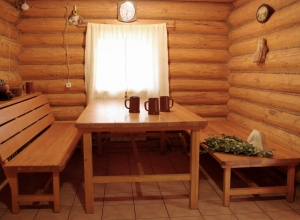 Сауна русская баня дом