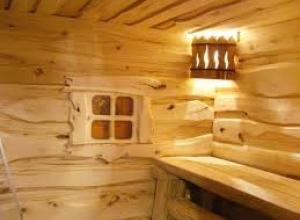 Комната отдыха в сауне фото