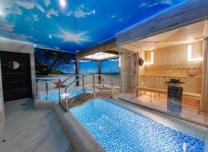 Баня сауна с бассейном цена