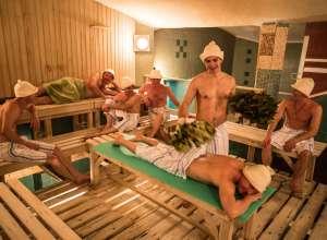 Общая баня для мужчин Москва