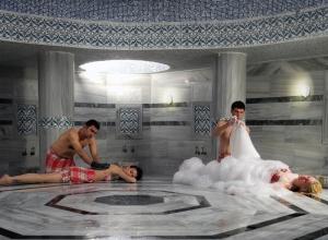 Турецкая сауна с массажем в Москве