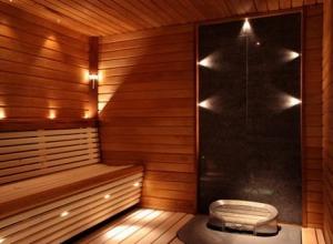 Сауна в квартире в ванной фото
