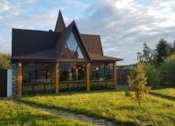 Русская баня Берлога Клинский район, деревня Минино, Мининский замок